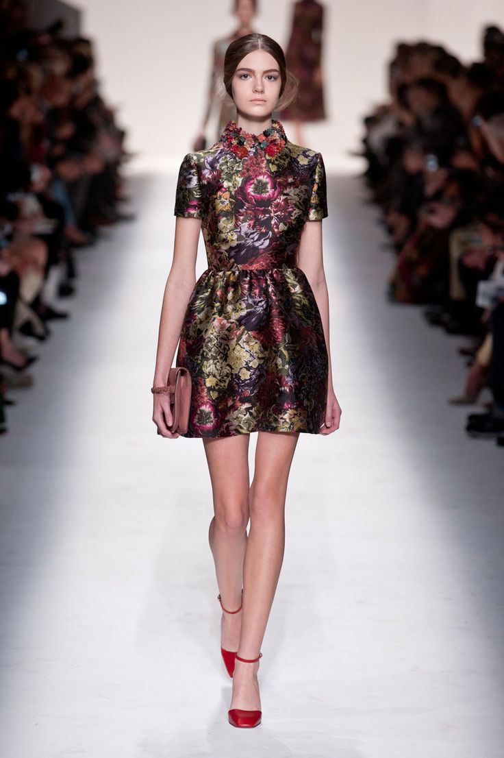 Valentino short flower dress