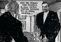 James Bond 007 Peruvian comic-strip panel, 1960's