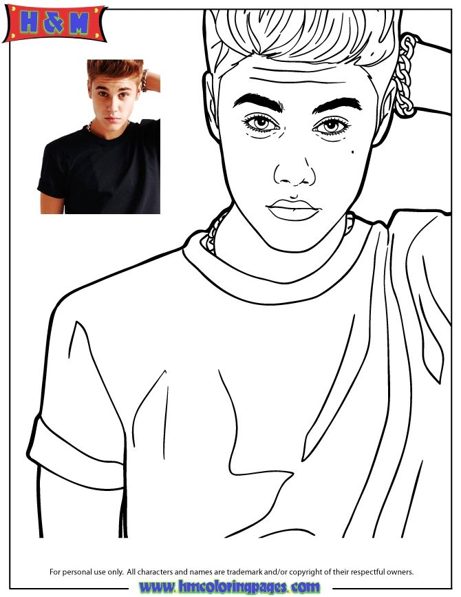 Justin Bieber Coloring Sheets Singer Justin Bieber Looking Confused Coloring Page H M Justin Bieber Coloring Sheets Here Is Justin Bieber Coloring Sheets For Y Di 2020