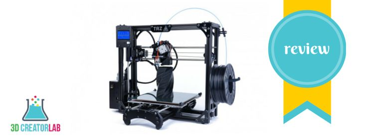 LulzBot TAZ 4 3D Printer Review - http://3dcreatorlab.com/lulzbot-taz-4-3d-printer-review/
