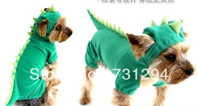 Pet комбинезон одежда для собак pet одежда pet products новый питомец Динозавр четыре ноги