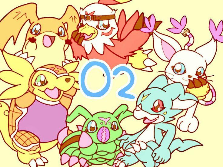 Digimons Zero Two