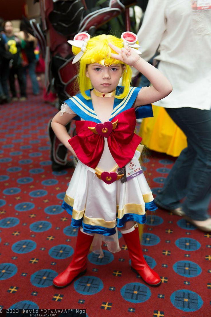 Sailor Moon #Kid #cosplay | Sailor Moon! | Pinterest