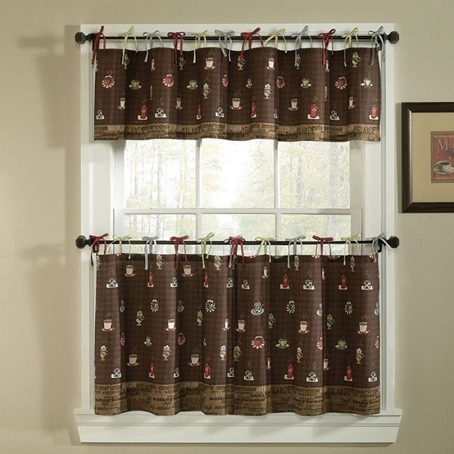 280 best images about cortinas y ropa de cama on pinterest - Kmart kitchen curtains ...