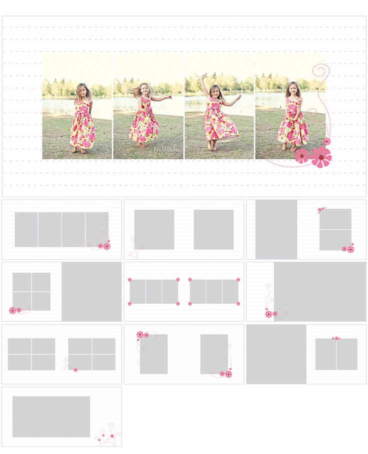 182 best Layout   Design images on Pinterest Page layout, Photo - photo album templates free