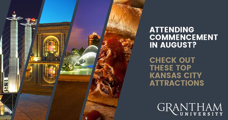 Coming to Kansas City as a graduate in Grantham's 2017 Commencement Ceremony? Here is a list of things to do while you're in town for the weekend this August.  https://www.grantham.edu/blog/attending-commencement-august-check-top-attractions/?utm_campaign=coschedule&utm_source=pinterest&utm_medium=Grantham%20University&utm_content=Attending%20Commencement%20in%20August%3F%20Check%20out%20these%20Top%20Attractions%20%7C%20Grantham%20University