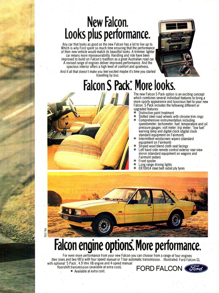 https://flic.kr/p/212Pq6W | 1979 XD Ford Falcon GL S-Pack V8 Page 2 Aussie Original Magazine Advertisement