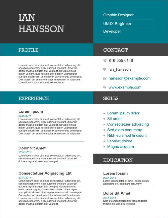 Resume Resumelab Free Resume Templates Word New 5 Resume Template Free Free Printable Resume Microsoft Word Resume Template