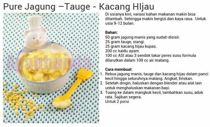 Pure Jagung - Tauge - Kacang Hijau