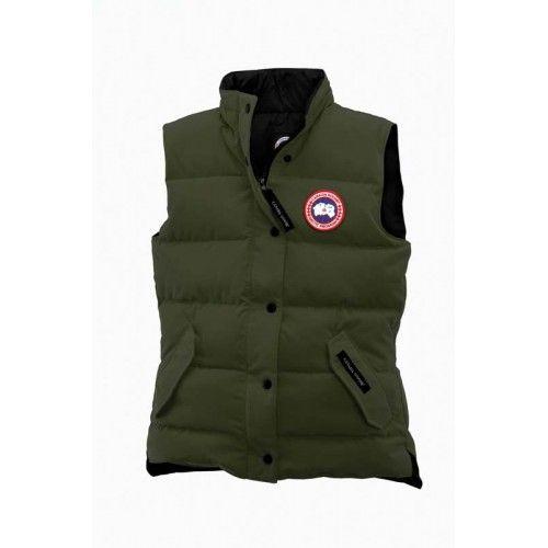 Canada Goose Vest Men Freestyle Nero