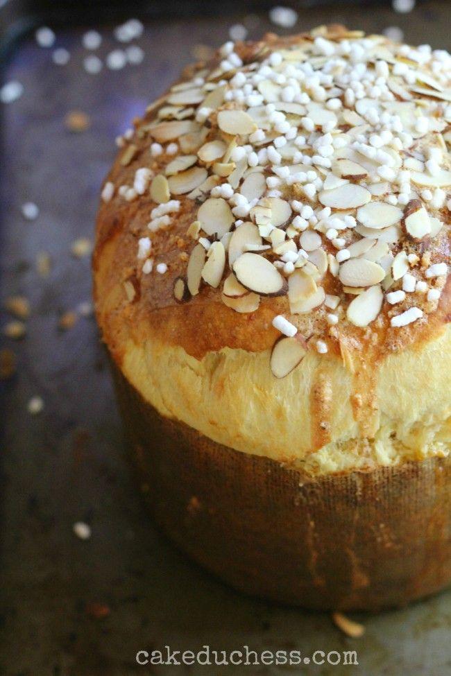 Sicilian Orange Sweet Bread -Pane di Pasqua | Cake Duchess #TwelveLoaves