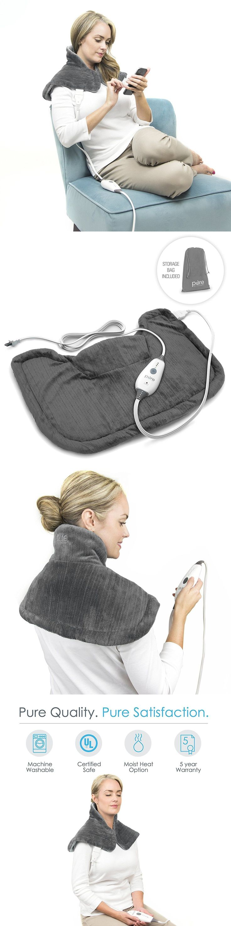 Cold and Hot Packs and Wraps: Neck Shoulder Heating Pad Pain Relief Heat Electric Back Relaxing Therapy -> BUY IT NOW ONLY: $39.28 on eBay!