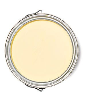 """Best Yellow for a Bedroom Moonlight Natura 2020-60 """"Very soothing, and not a huge leap if you're used to white.""""  To buy: $50 a gallon, benjaminmoore.com for stores."""