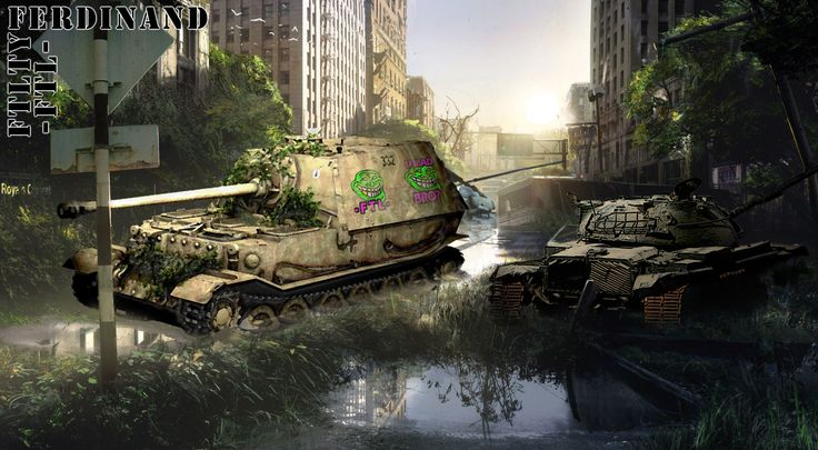 FERDINAND TANK DESTROYER FTL FTLTY Fatality Fatal1ty clan fan art and wallpapers EU server world of tanks English speaking platoons tank companies and clan wars world of tanks