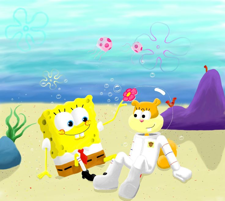 This was something random. But i was also inspired. Squiddi was my inspiration. this artist does amazing digital artworks of spongebob and sandy, and so i wanted to have a go. although i am not as ...