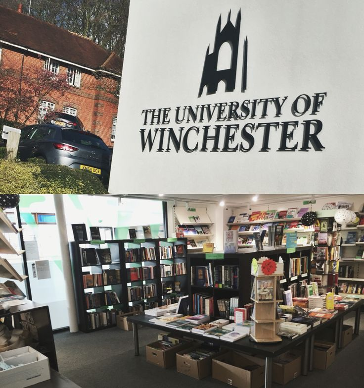 An University of Winchester collage. I went there for my work experience because I had the opportunity to work in one of the most famous book shops.