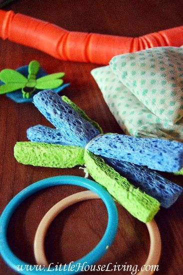 Toddler Busy Bags - Toddler Sensory Toys - Cheap Toddler Activities