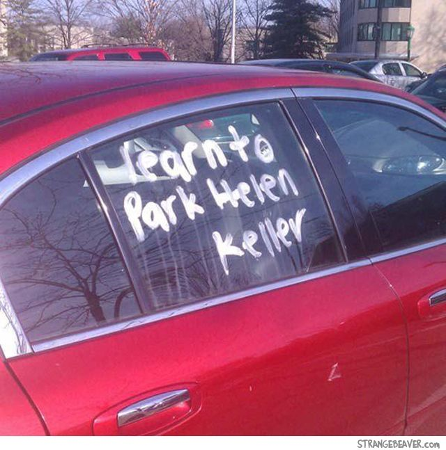 Notes for bad parking                                                                                                                                                                                 More