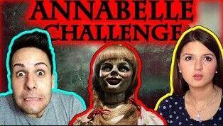 ANNABELLE CHALLENGE!