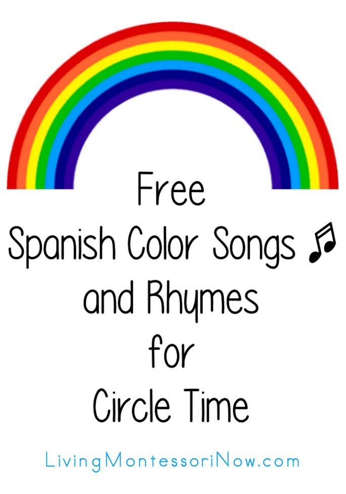 Lots of fun YouTube videos with Spanish color songs for a variety of ages - great way to reinforce Spanish color words at home or in the classroom!