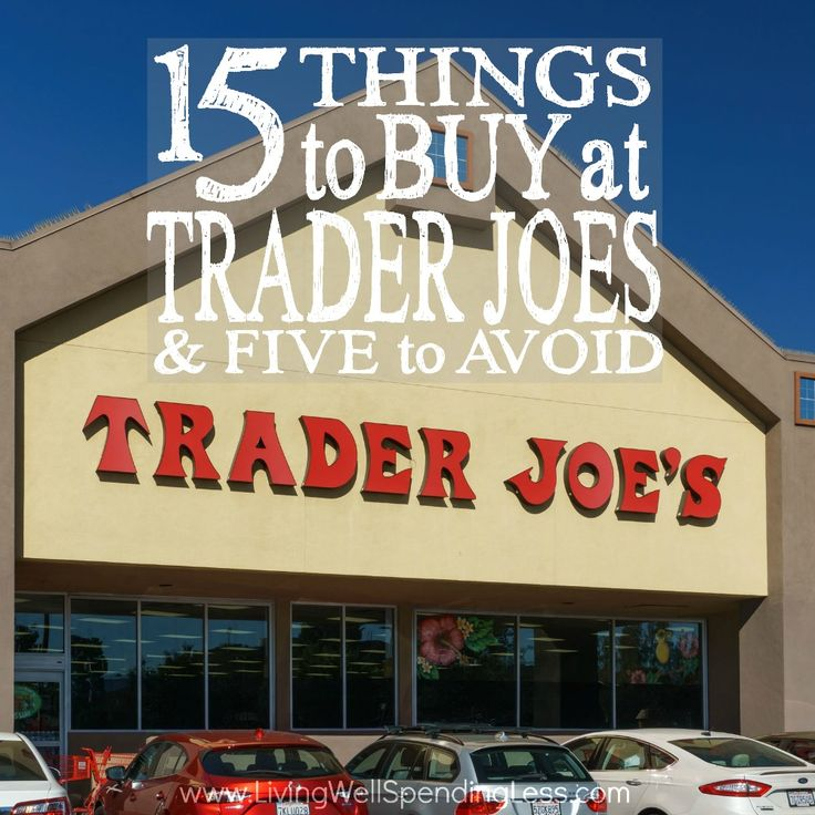 Trader Joe's Buying Tips | Things to Buy Trader Joe's | Products to Avoid Trader Joe's | Shopping Tips | Trader Joe's | Cookie Butter | Kale Sprouts | Vegetarian Freezer Meals | No Organic Meats