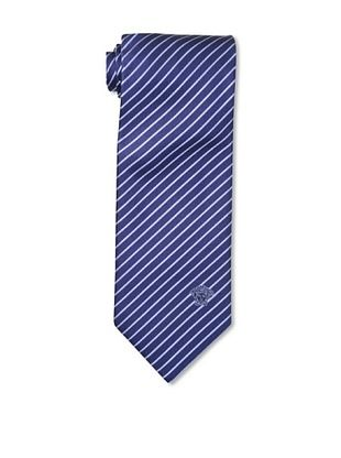 70% OFF Versace Men's Striped Tie, Navy