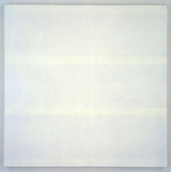 Agnes Martin - Acrylic + Graphite on Canvas - untitled no. 17 (1997)