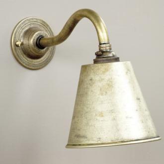 brass lighting gentlemans club wall light jim lawrence. Black Bedroom Furniture Sets. Home Design Ideas