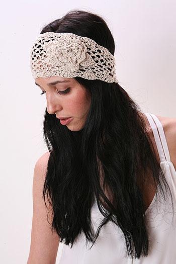 Want a crochet head wrap. $10. www.pinkice.com: Idea, Hairstyles Crushes, Hair Accessories