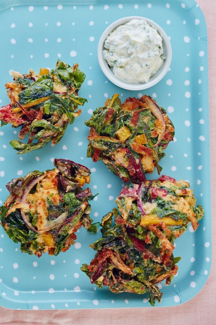 How To Make Fritters Out of Any Vegetable. These delicious deep fried cakes are a great way to get kids to eat their veggies! Delicious side dish that's easy to make and fun to eat. Try this vegetarian treat with carrots, parsnips, sweet potatoes, zucchini, cauliflower, broccoli, swiss chard, spinach, kale.