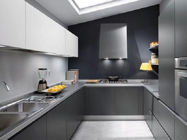 Gray And White Modern Kitchen 109 best k i t c h e n . g r e y images on pinterest | kitchen