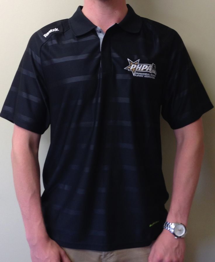 PHPA PlayDry polo shirt produced by Reebok.