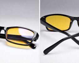 Špeciálne okuliare na prácu s PC aj na nočnú jazdu