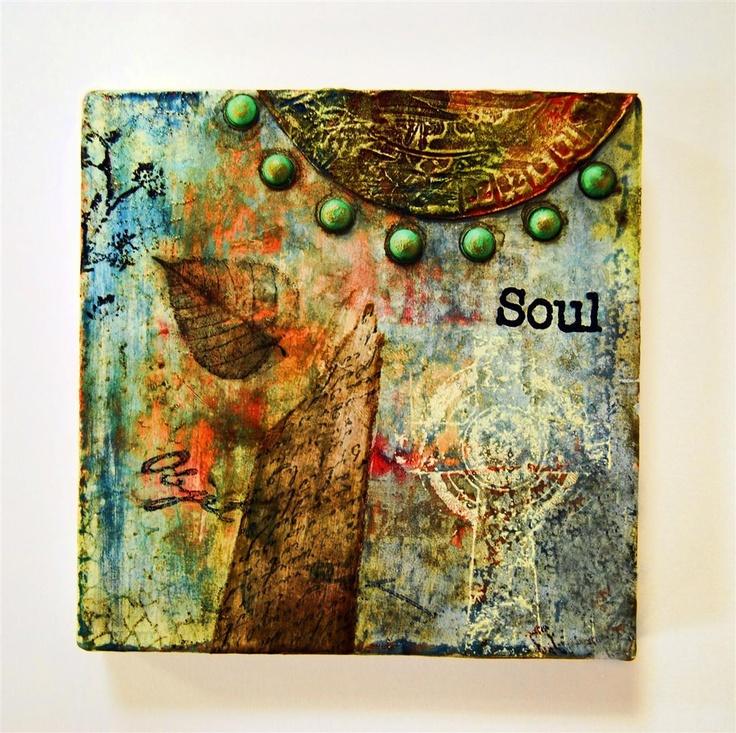 562 best canvas ideas images on pinterest art journaling for Mixed media canvas art ideas