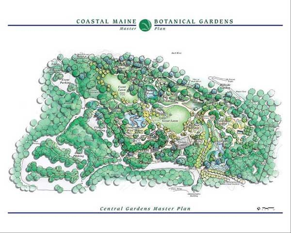 BOTANICAL GARDEN MAP   Coastal Main