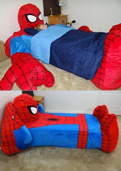 Daaaaaaaad, Can I Pleaaaaaaase Have One? Spiderman bed