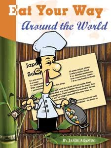 Adding national dishes to your Geography studies with a fantastic resource: Eat Your Way Around the World-The Unlikely Homeschool