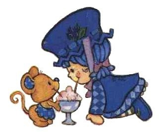 blueberry muffin and cheesecake mouse