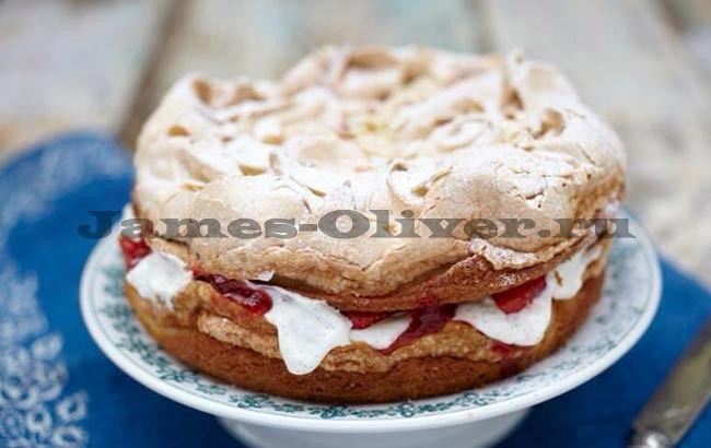 Итонский пирог с безе - рецепт от Джейми Оливера