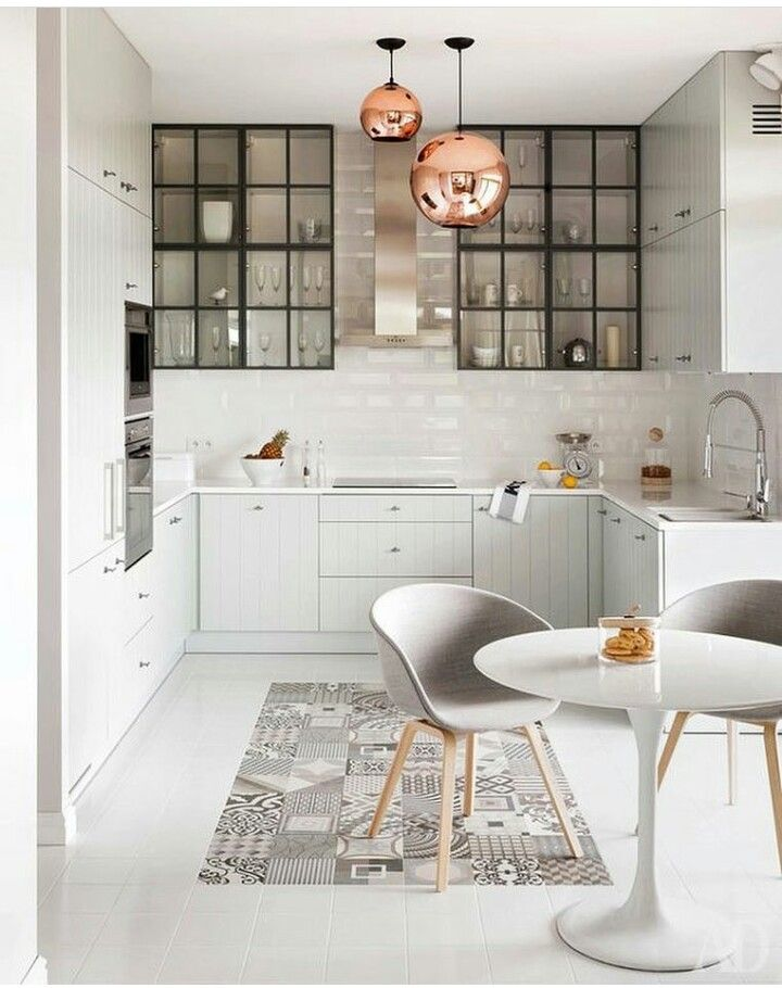 152 best Cocinas blancas images on Pinterest Kitchen white