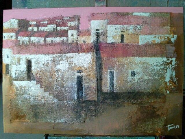 Periferia 50x70 cm Luigi Torre painter 2015