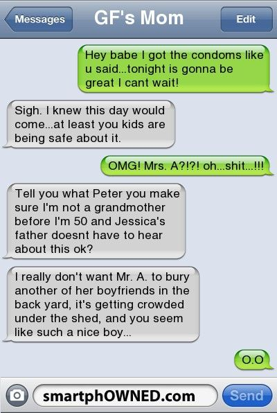 Top 15 Awkward Parent Texts - Awkward Parents - Jan 1, 2012 - Autocorrect Fails and Funny Text Messages - SmartphOWNED