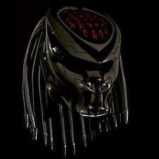 Black Helmet Predator Custom - Dot | RenoHelmetAndAirBrushing -  on ArtFire