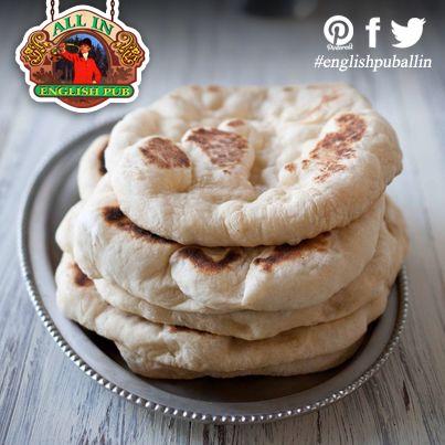 Pane #Pita fatto in casa con aglio e #Birra - Homemade Garlic Beer Pita Bread  #englishpuballin #englishpub