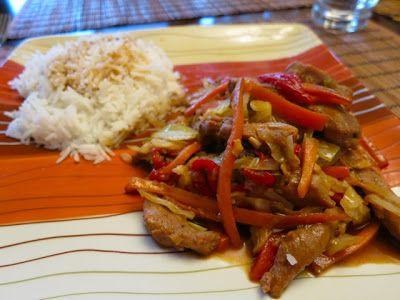 Невыразимая легкость кулинарного бытия...: Стир-фрай из утки с овощами