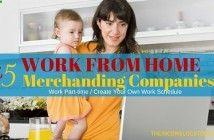 45 Legit Work from Home Merchandising Companies