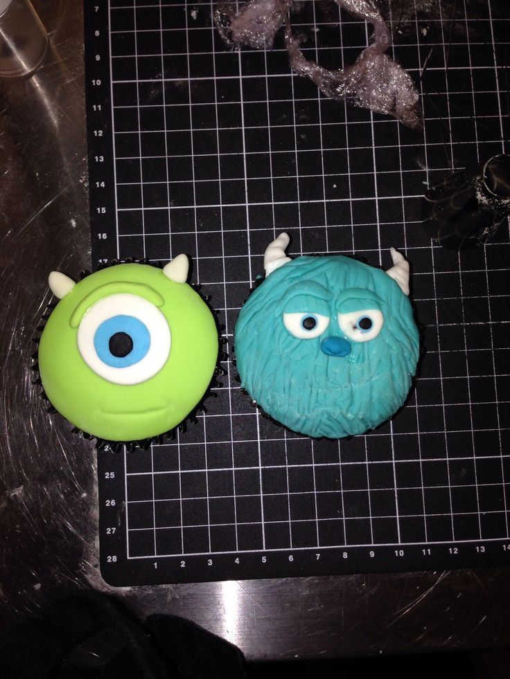 Monsters Inc Cakes And Cupcakes