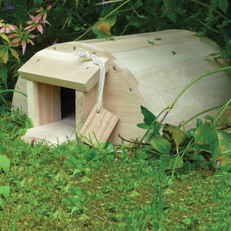if i were a hedgehog i knowid like to live here!!  Wildlife World Original Hedgehog House - Eco £42.95