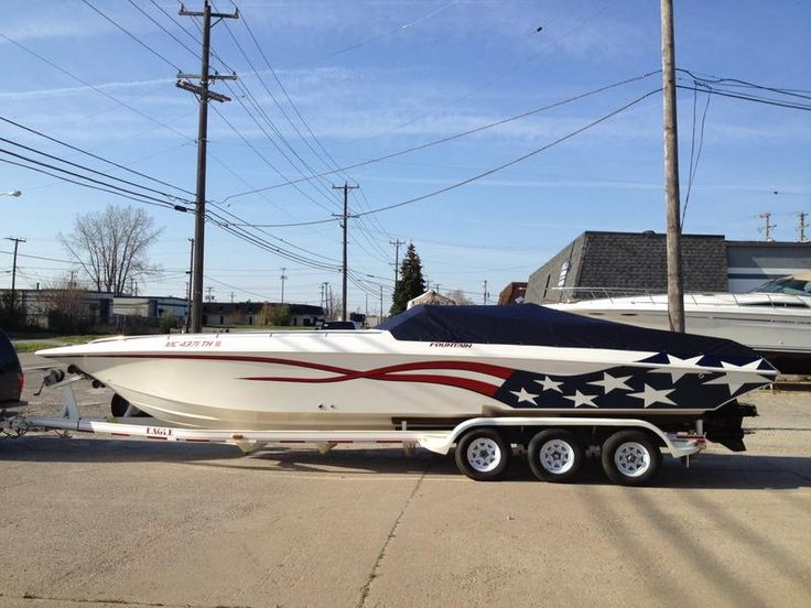32′ Fountain Fever Used Boat For Sale By Owner - Xplode Powerboats