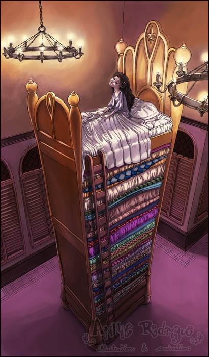The Princess and the Pea ~ Annie Rodrique.